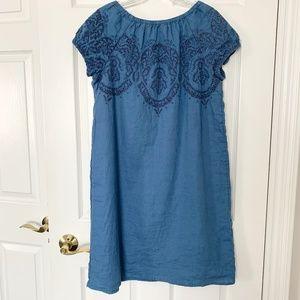 J. Jill 100% Linen Dress - Size M